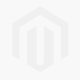 Jeulia Flower Design Princess Cut Sterling Silver Two Skull Ring