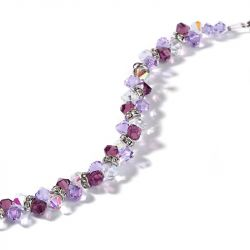Jeulia Romantic Imitated Crystal Bracelet