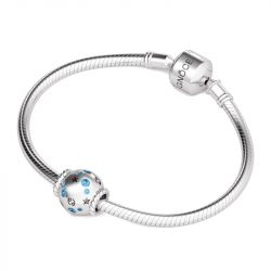 Cancer Charm Sterling Silver