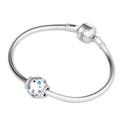 Gemini Charm Sterling Silver