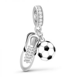 Soccer Charm Sterling Silver