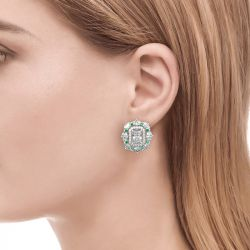 Jeulia Cinderella Stud Earrings