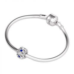 Infinity Stones Charm Sterling Silver