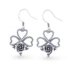 Jeulia Flowering of The Heart Earrings